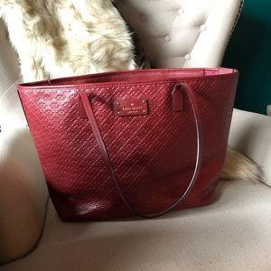 Kate Spade tote (red)